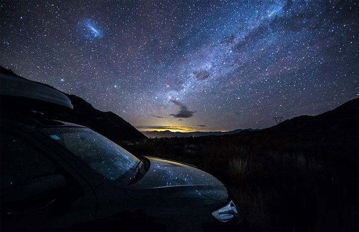 تصاویر دیدنی از کهکشان راه شیری
