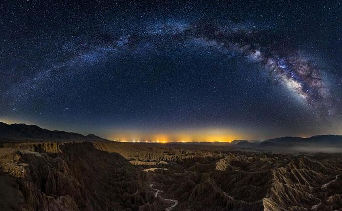 عکس با کیفیت بالا از کهکشان راه شیری