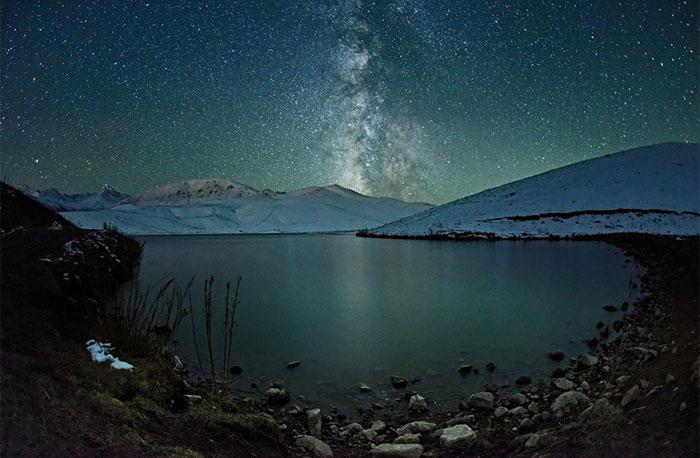 عکس hd کهکشان راه شیری