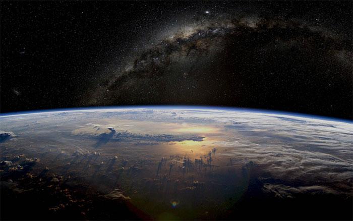 عکس های زیبا از کهکشان راه شیری