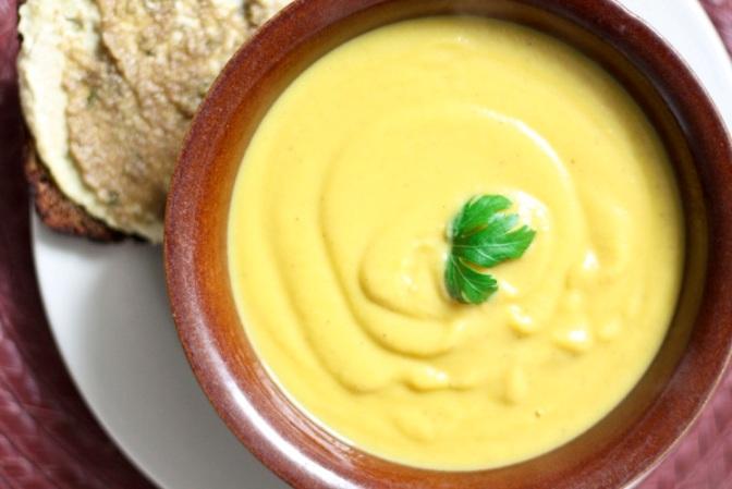 طرز تهیه سوپ هویج و گل کلم