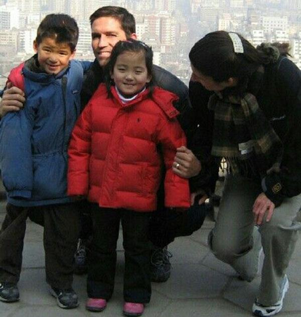 جیمز کاویزل و فرزندانش