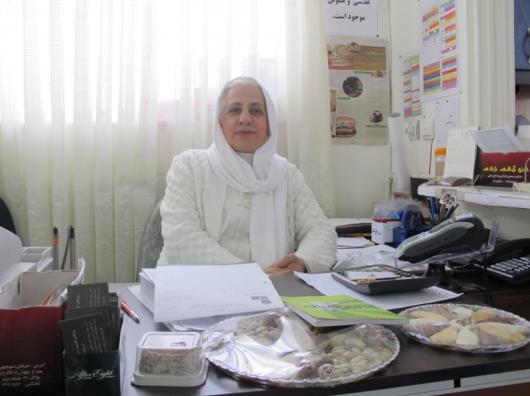 مریم حسینی خام گیاه خواری