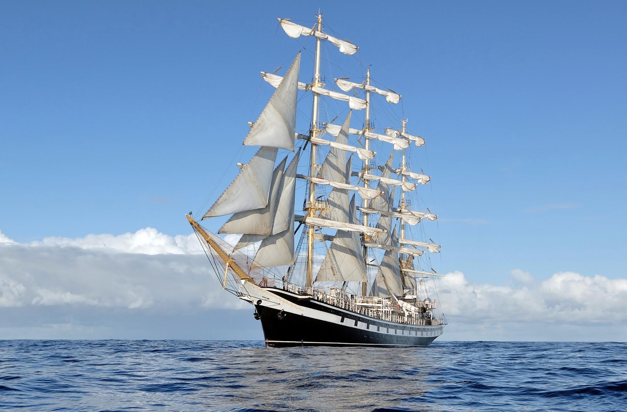 والپیپر کشتی های بادبانی