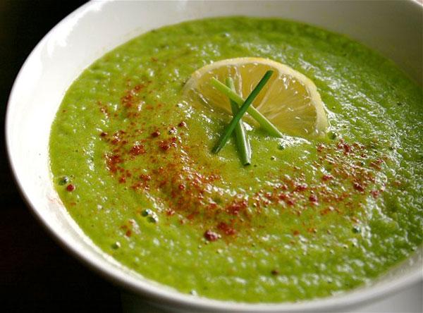 سوپ نخود فرنگی