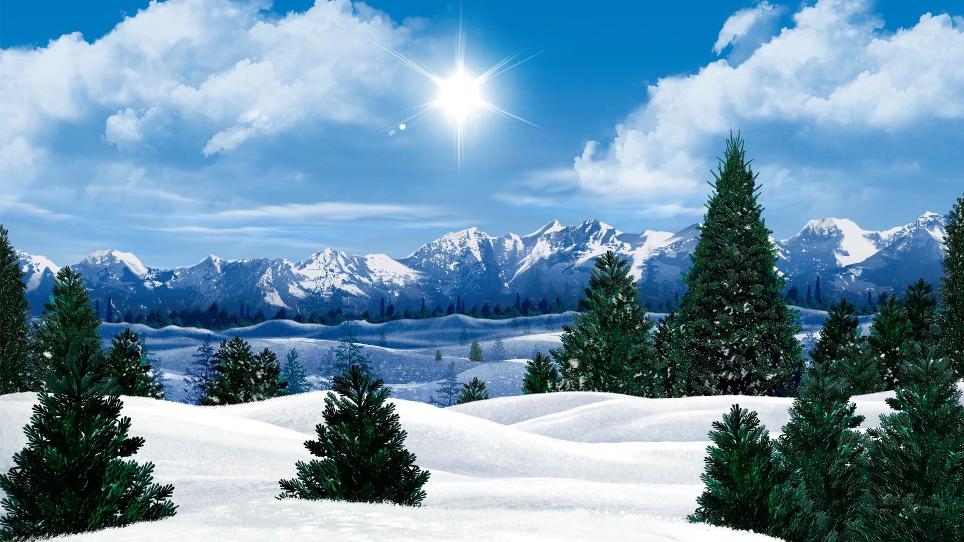والپیپر فصل زمستان با کیفیت HD