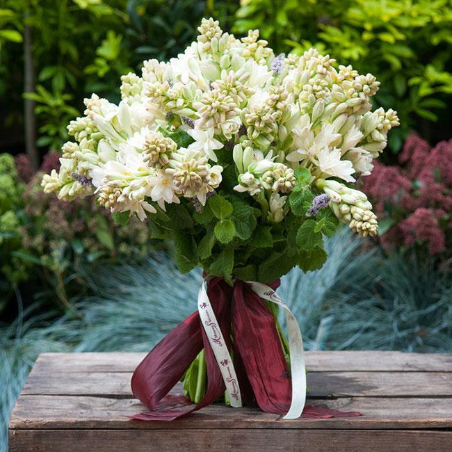 دسته گل عروس گل مریم