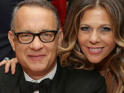 تام هنکس و همسرش ریتا ویلسون