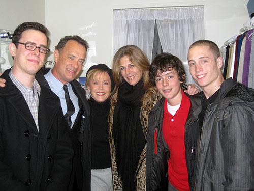 تام هنکس و فرزندانش