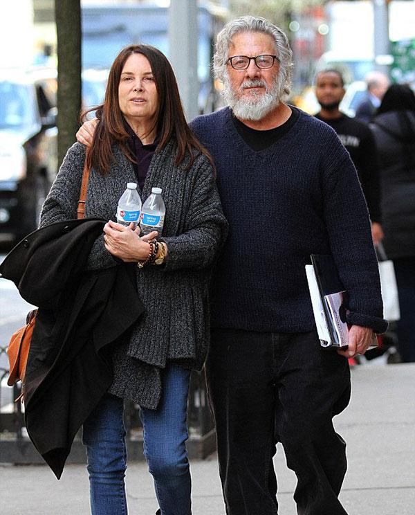 داستین هافمن و همسرش لیزا هافمن