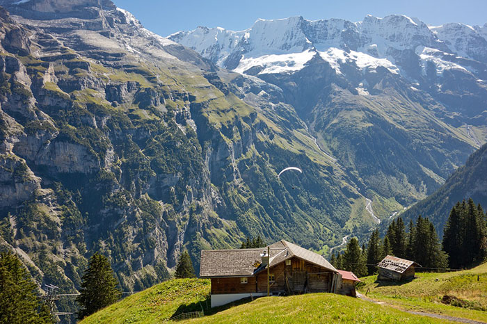 کوهستان های زیبای سوییس