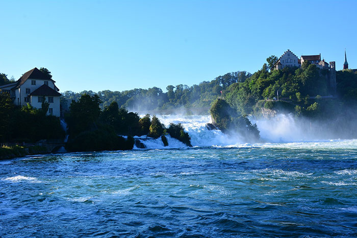 رودخانه های زیبای کشور سوئیس
