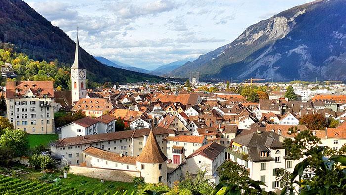 عکس شهر و روستاهای دیدنی سوییس