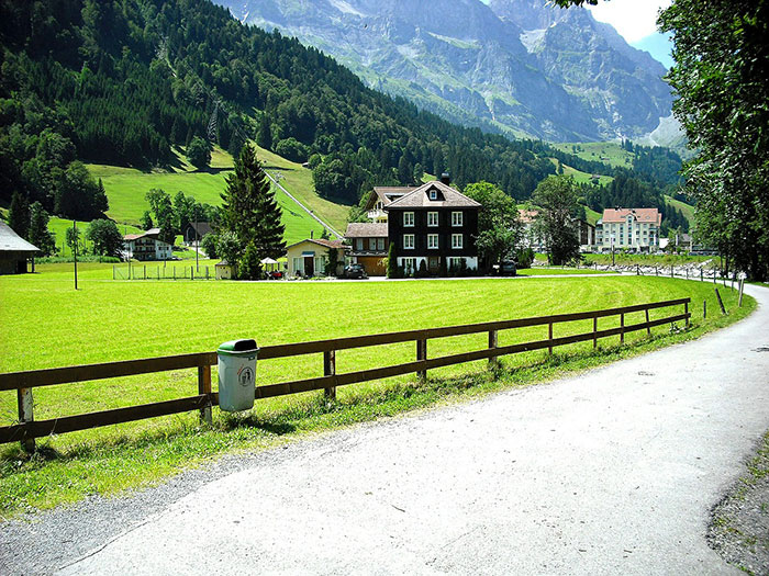 عکس های طبیعت روستایی سوییس