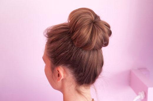 مدل موی گوجه ای جورابی