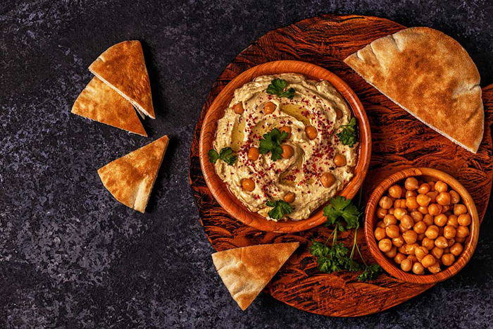 طرز تهیه حمص (هوموس) لبنانی