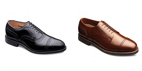 کفشهای با سر کلاهکی (cap toes)