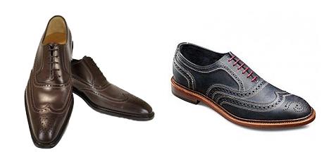 کفشهای Wingtips