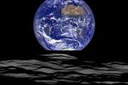 طلوع زیبا و شگفت انگیز زمین از کره ماه
