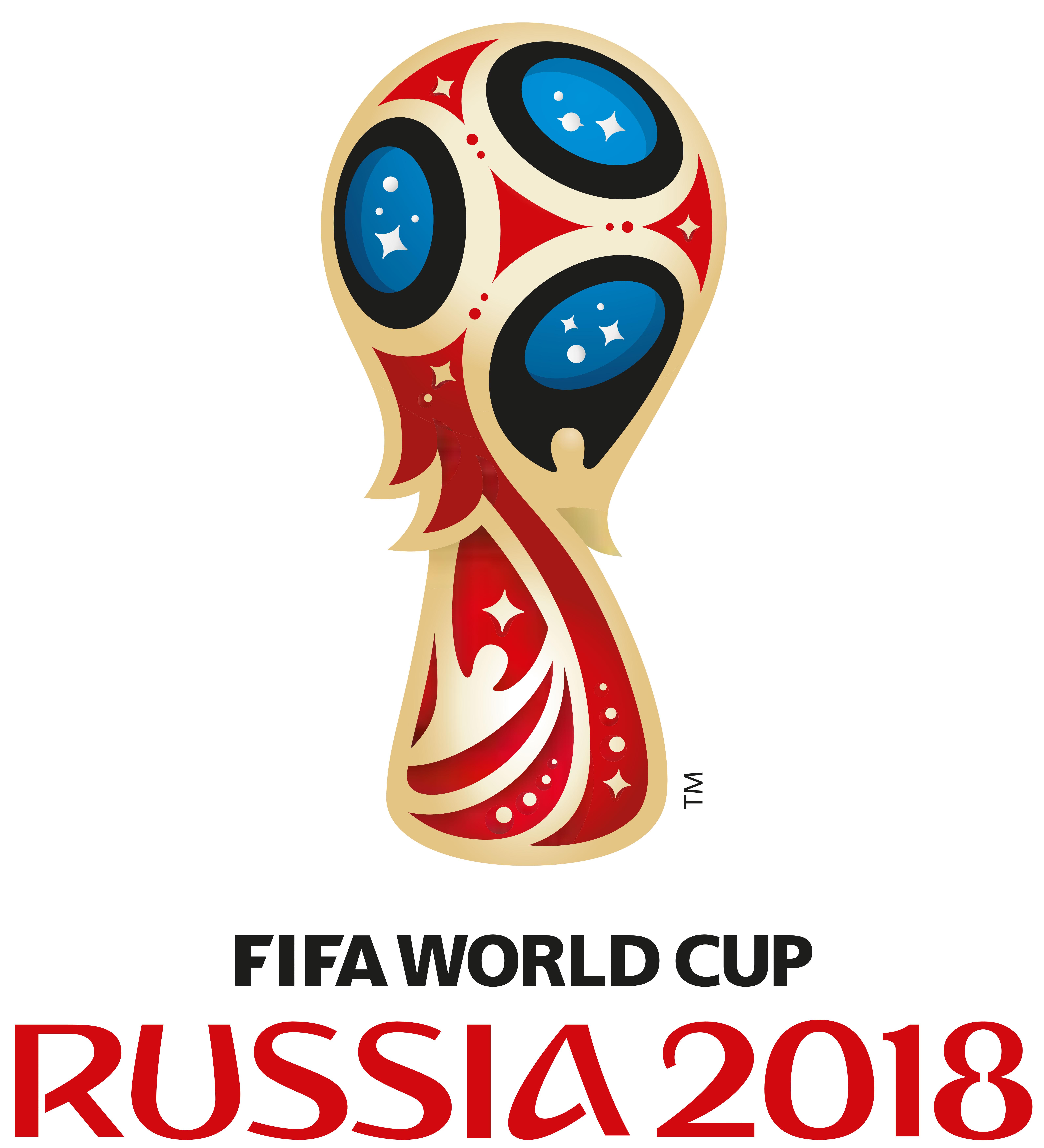 لوگوی جام جام جهانی 2018 روسیه : russia world cup 2018 logo