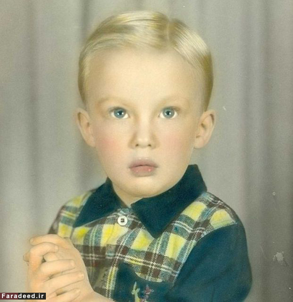 کودکی دونالد ترامپ