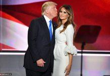 دونالد ترامپ و همسرش ملانیا