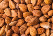 ارزش غذایی بادام درختی در 100 گرم