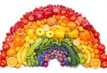 رژیم غذایی رنگین کمانی