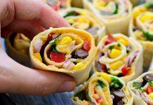 طرز تهیه رولت سبزیجات