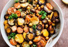 طرز تهیه سالاد نخود با هویج