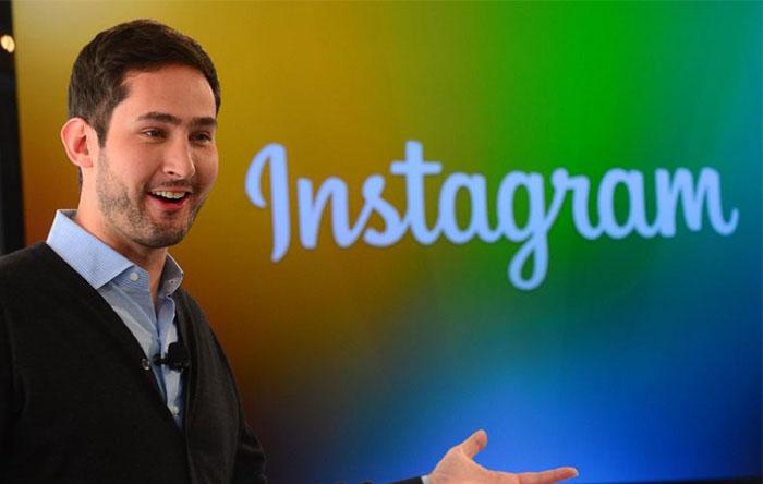 «کوین سیستروم» (Kevin Systrom)، موسس و مدیر عامل اینستاگرام
