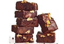 طرز تهیه براونی کلاسیک گردویی؛ با طعم فوق العاده کاکائو و شکلات