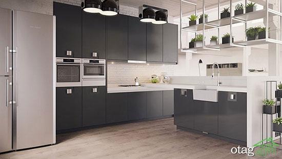 جدیدترین کابینت های آشپزخانه مد امسال