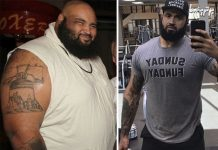 کاهش 154 کیلوگرم در 3 سال