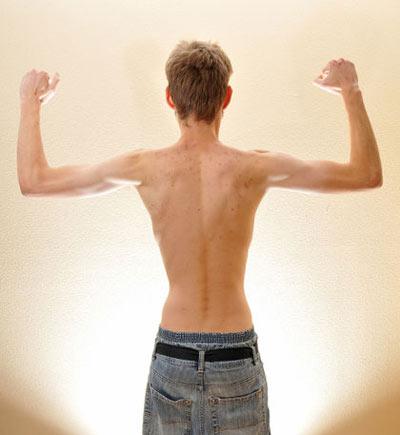 ورزش کردن افراد لاغر
