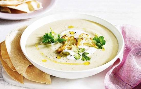 سوپ گل کلم