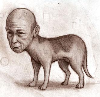 سگ انسان نما ( Jinmenken )