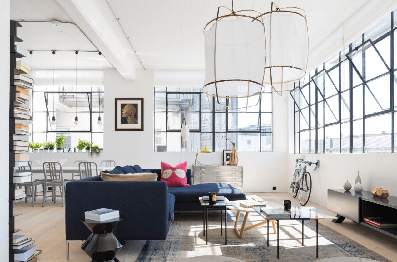 Industriele Keuken Te Koop : Loft Apartment London