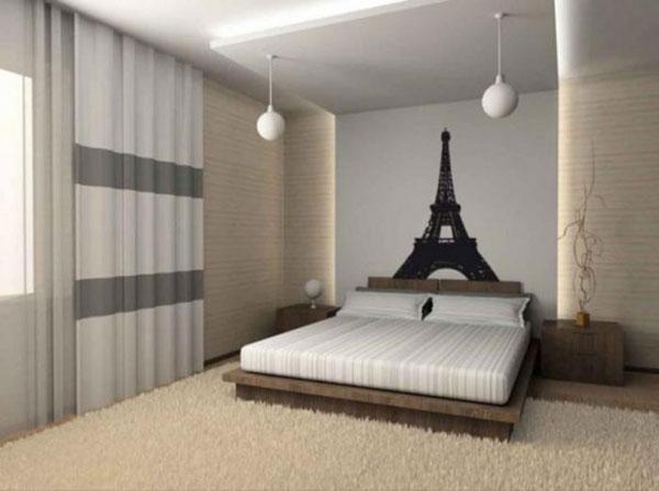دکوراسیون اتاق خواب به سبک فرانسوی ها؛ ساده و شیک
