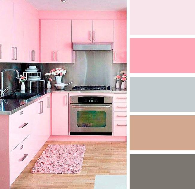 رنگ های مد شده برای دکوراسیون آشپزخانه