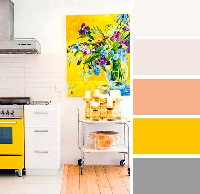 بهترین ترکیب رنگ ها برای دکوراسیون آشپزخانه