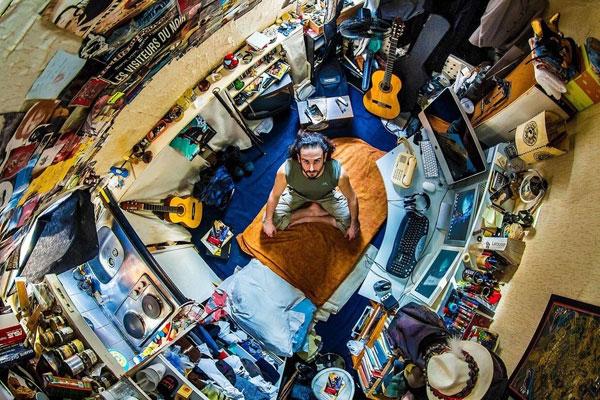 اتاق خواب جوان پاریسی، 30 ساله