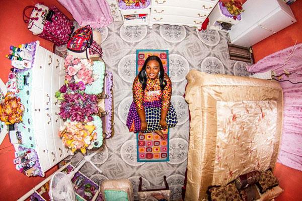 اتاق خواب دختر جامائیکایی