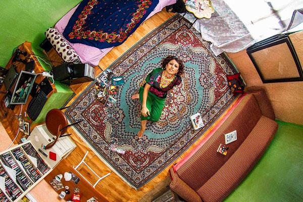 اتاق خواب دختر ترکیه ای