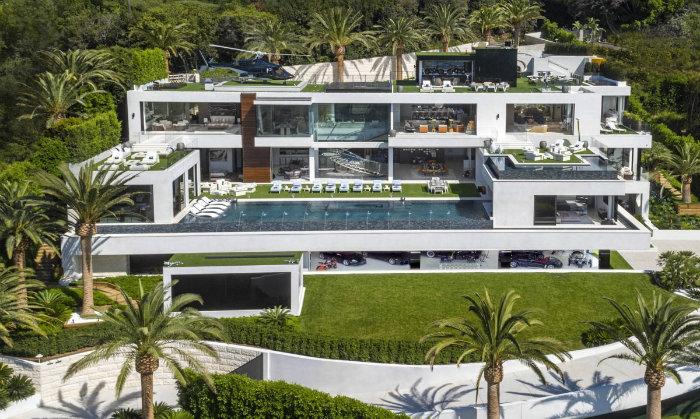 عکس های گران ترین خانه آمریکا