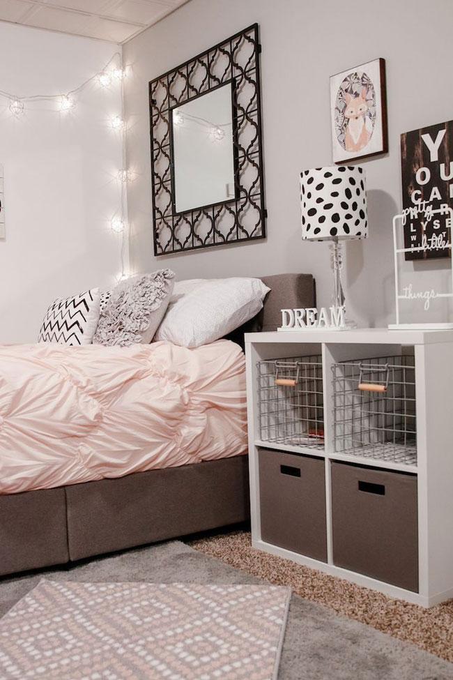 عکس دکوراسیون اتاق خواب دخترانه