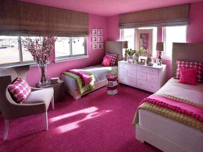 انواع مدل دکوراسیون اتاق دخترانه