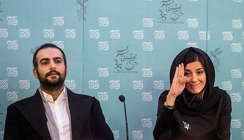 حامد کمیلی و سارا بهرامی