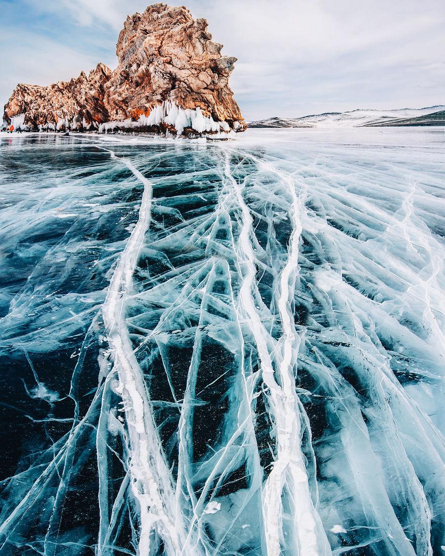 عکس های دریاچه بایکال در سیبری
