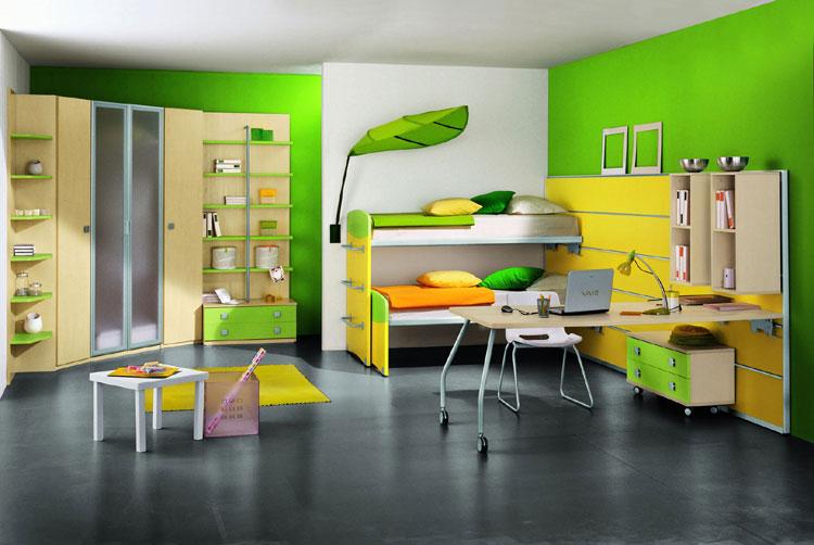 جذاب ترین مدل های دکوراسیون منزل به رنگ سبز